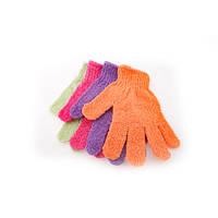 Мочалка для душа перчатка (нейлон)