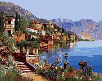 Картина по номерам Mariposa Теплое море Италии Q-2142
