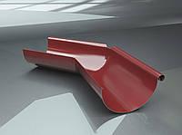 Поворот желоба внутренний 135 градусов для металлического водостока RAIKO 125/90