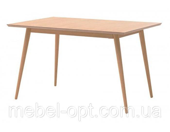 Стол  MEET M9 обеденный прямоугольный цвет дуб деревянные  ножки скандинавский стиль
