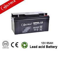 Акумуляторні батареї MATRIX NP65-12