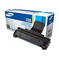 Картридж Samsung MLT-D108S, Black, ML-1640/1641/2240/2241, 1.5k, OEM