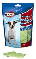 Trixie (Трикси) KauChips Light со спирулиной 100 г - пластинки для чистки зубов со спирулиной