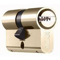 Цилиндр TITAN  K55  ключ/ключ(ключ/кноб) никель