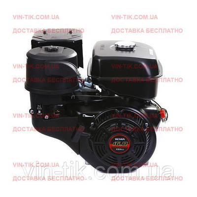 Двигатель WEIMA WM190F-S NEW (25 мм, шпонка, ручной  старт, бензин 16л.с.)
