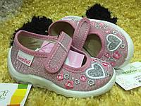 Детские тапочки для девочки Waldi 21 размер