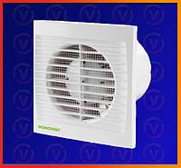 Бытовой канальный вентилятор Домовент СТ таймер, D = 100мм
