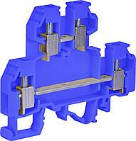 Клемма винтовая-нейтральная 4 mm2 VS 4 NA N  (4 mm2_синяя)