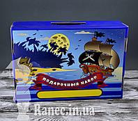 """Подарочный набор для мальчиков """"Пираты """" 39 предметов   0039"""