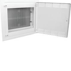 Щит Golf 2-рядный для мультимедиа внутренний, белые пластиковые перфорированные двери