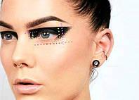 Геометрический макияж глаз: тренд 2018 года
