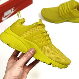 Женские кроссовки Nike Air Presto Ultra BR lemon chiffon. Живое фото (Реплика ААА+)
