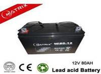 Акумуляторні батареї MATRIX NP80-12