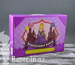 """Подарочный набор для девочек """"Принцессы """" 68 предметов  0068-D подарок детям  ребенок подарок, фото 2"""