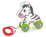 Игрушка-каталка Viga Toys Зебра (50093)