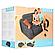 Надувное кресло-трансформер Intex 68565 (109х218х66 см) без насоса, фото 7