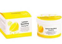 Ватные диски для пилинга с экстрактом лимона и салициловой кислотойSecret Key Lemon Sparkling Peeling Pad