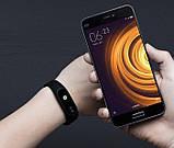 Оригінальний фітнес браслет Xiaomi Mi Band 2 Black (MGW4024GL), фото 5
