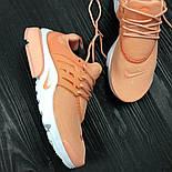 Женские кроссовки Nike Air Presto Ultra BR Orange. Живое фото (Реплика ААА+), фото 2