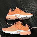Женские кроссовки Nike Air Presto Ultra BR Orange. Живое фото (Реплика ААА+), фото 6