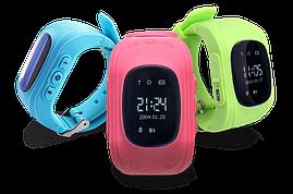 Детские часы с GPS - Smart Baby Watch Q50 цвета в наличии