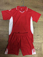 Форма футбольна Classik Sport підліткова червоно-біла L