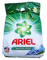 Ariel порошок для белого и цветного белья Mountain Spring (1,5 кг-20 ст) Германия