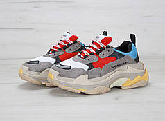 Кроссовки Balenciaga Triple S Black Multicolor топ реплика