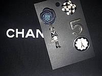 Брошь, набор,металическая покрыта эмалью, фото 1