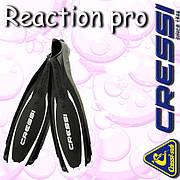 Ласты CRESSI FINS REACTION PRO Black 46-47
