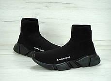 Кроссовки Balenciaga Speed Trainer Black топ реплика, фото 3