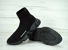 Кроссовки Balenciaga Speed Trainer Black топ реплика, фото 2