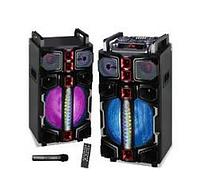 """Активная акустическая система WIMPEX WX 7314-12 12""""X2, Bluetooth, Пульт ДУ, Микрофон"""