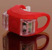Силиконовый фонарик, мигалка, маячок (красный) 1шт