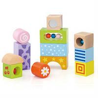 Набор строительных блоков Viga Toys Погремушки (50682)