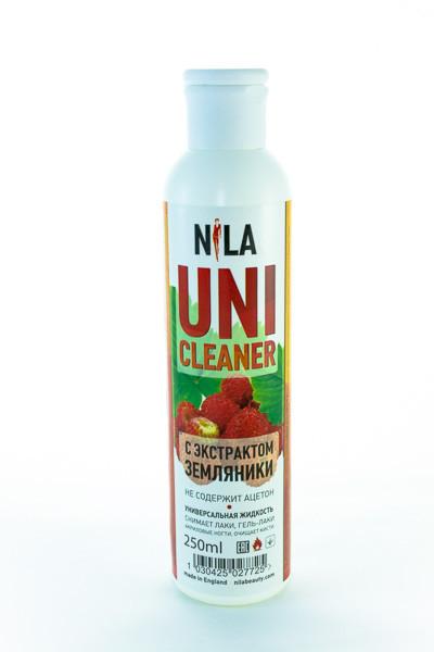 Универсальная жидкость Nila Uni-Cleaner д/очистки земляника 250 мл