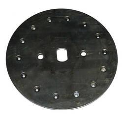 Диск высевающий 14 отв. Ф 3 мм. (подсолнечник) толщина диска 3,1  сталь 65 г