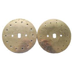 Диск высевающий 22 отверстия Ф 3 мм. (подсолнечник) толщина диска 3,1  сталь 65 г