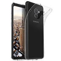 Ультратонкий 0,3 мм чехол для Samsung Galaxy A5 (2018) прозрачный