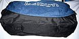 Спортивная дорожная синяя сумка 50*22 см, фото 4
