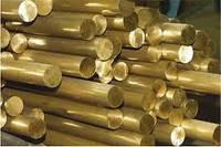 Круг пруток бронза прессованный ОЦС555 Оловянно свинцово цинковый сплав Диаметр 16мм-180мм