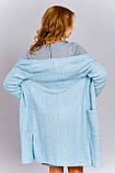 Вязаный женский кардиган с карманами, фото 2