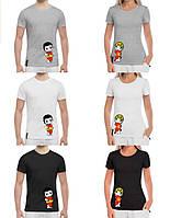 """Парные футболки для влюбленных """"LOVE IS..."""""""