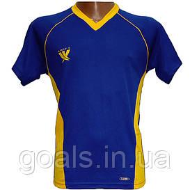 Футболка футбольная SWIFT 7 Sonata Tactel (сине/желтая)
