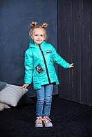 Весенняя куртка для девочки мята