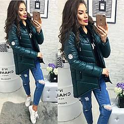Куртка зимова, модель 300, колір пляшка, 44 розмір