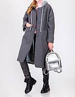 Женское пальто Букле на подкладке