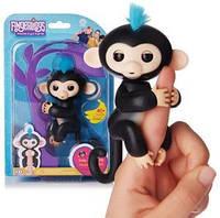 Качественная обезьянка Fingerlings Финн черный