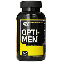 Лучшие витамины Opti Men Optimum Nutrition 240 tab