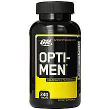 Лучшие витамины Opti Men Optimum Nutrition 240 tab